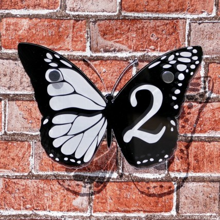 Butterfly House Sign