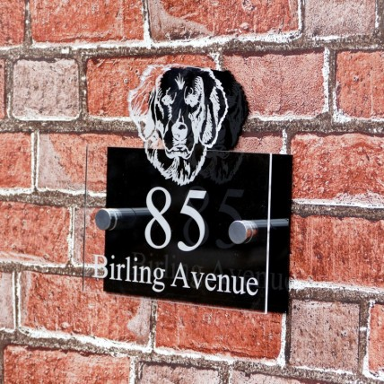 Retriever House Sign