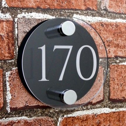 House Number 120mm x 120mm