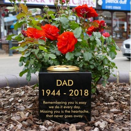 Granite Memorial Vase | Crematorium Vase